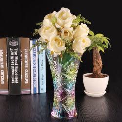 Décoration de haute qualité Vase Crystal Clear