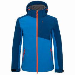 Mens Softshell che fa un'escursione il cappotto rampicante di campeggio esterno dei rivestimenti