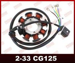 piezas de repuesto motos CG125 piezas del motor de la bobina Magneto de piezas de motocicleta de alta calidad