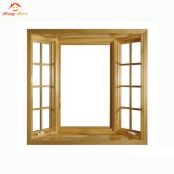 Spécial à battants en aluminium/aluminium fenêtre en verre de matériau de construction