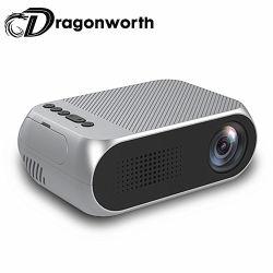 La Chine Mini bon marché de gros de la musique de l'image pour la vente de Projecteur HD 1080P YG320