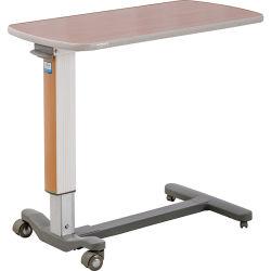 Norme de l'UE Overbed Table à manger de l'hôpital (CE/FDA/ISO)