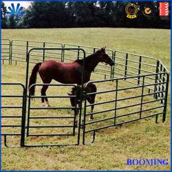 オーストラリア6railsの馬の畜舎の電流を通される楕円形の柵の牛パネルはヤード家畜パネル、Fecing牧場を囲う