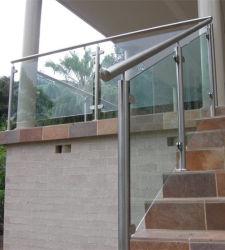 Pont Balustrade de verre / Acier inoxydable classe 316 balustrade en verre/ Clôture
