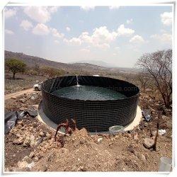 Lagoa forte cobertura de água de HDPE Membrana Impermeabilizante