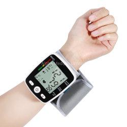 Video automatico portatile elettronico di pressione sanguigna della manopola di funzione di memoria di memoria di impulso di frequenza cardiaca della visualizzazione dell'affissione a cristalli liquidi di Digitahi