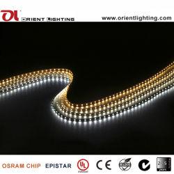Streifen-Licht des UL-Cer-SMD 3528/1210 flexibles des Streifen-60 LEDs/M LED
