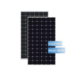 홈을%s 태양 전지판 380W Perc 단청 태양 전지판 72 세포