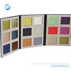 1.1mm - 6mm frei oder farbiger Spiegel Glas von Silber-beschichtetem oder überzogenem Aluminiumfloatglas für Badezimmer-dekorative Wand