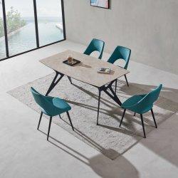 Mobilia fissa della sala da pranzo della farfalla di ceramica moderna della Tabella