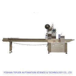 Máquina de envasado Three-Servo Tefude Contenedor de flujo horizontal