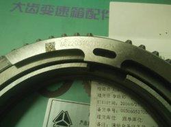 Engrenagem Faixa Sinotruck HOWO parcialmente o anel sincronizador Assy Wg2203100107