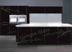 مطبخ جدار شامة طباعة يليّن زجاج مع نظيف وأمان
