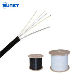 La fabricación de fibra óptica FTTH 1 Núcleo Drop Cable G657A1