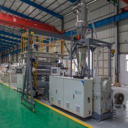 Máquina de fabricación de hojas de PVC rígido/PVC imitación de la Junta de mármol/chapa/placa de la extrusión|máquina de hacer de extrusión de PVC/Lmitation Artificial línea decorativa