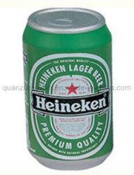 Tecla Personalizada PU lata de cerveja Toy