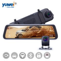 4G Touchscreen van de Nok van het Streepje 1080P Spiegel, het Registreertoestel van de Camera van de Auto met WiFi, 4G, GPS Navigation