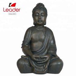 Fabrik-direkter Preis Polyresin nachdenkliche Buddha Statue, 49cm Harz-Garten-Buddha-Statue
