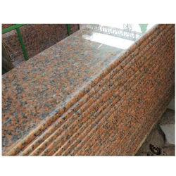 Lastra della pietra del granito/mattonelle naturali/mosaico per costruzione/domestico/cucina/stanza da bagno/pavimentazione/parete in colore rosso/Brown/nero/bianco/grigio/colore giallo/oro