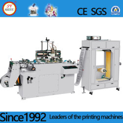 High Speed NC PVC, OPP, Dacron, Security Mark, Adhesive Continuous Belt Reel Label Screen Printing Machine