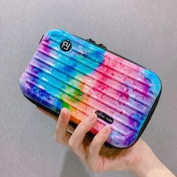 小型Girl PCスーツケースの箱の卸売の昇進の女性堅い例の美の旅行構成の化粧品袋を手搬送