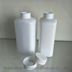 500cc Pet/Hdpe Plastic Square Bottle Pill/Capsule/Cosmetic/Water Container/Jar Packaging