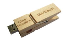Деревянные Clip флэш-накопитель USB Clothespin перо диск карты памяти Memory Stick 4G 8ГБ 32ГБ 16ГБ