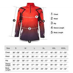 漁師の衣服の日曜日の保護衣類の人の衣服の長い袖のジャケットの通気性の夏のスポーツの摩耗釣服装