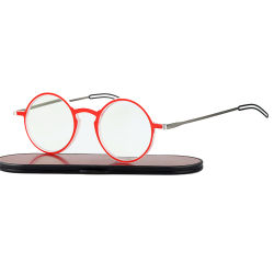 Superfino papel óculos de leitura com óculos de luz azul