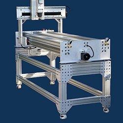 El trabajo de aluminio anodizado de alta calidad para la mesa mesa de trabajo con perfil de aluminio (3030)