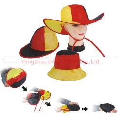 La promoción de la cuchara plegable de poliéster azul Hat