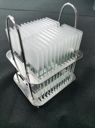 高品質の医学の顕微鏡のスライドおよび保護ガラスカバースリップ