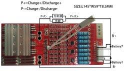 BMS Lws-10S20A-034 Personnaliser 5s-10s avec équilibrage et contacteur de Temp