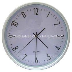 Круглый 12-дюймовый подарок пластиковую часы кварцевые часы часы
