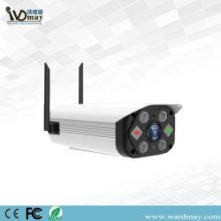 Áudio bidireccional H. 265 5.0MP Chip Sony Home Security Surveillance Wireless WiFi Câmara bullet de IV com alerta Auido