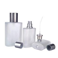 15ml 30ml 50ml 100 мл матового Oblate прямоугольник духов стеклянных бутылок для опрыскивания