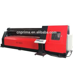 油圧3ローラーの管の作成のための対称的な鋼板圧延機