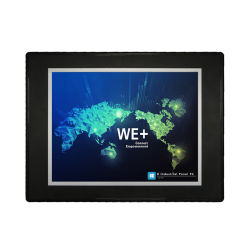 10.4 pouces tout-en-un panneau tactile industriel intégré sans ventilateur PC 6.0 WINCE Tablet PC