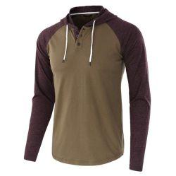 Tirez vers le haut de gros en usine sur les hommes coton Pull Hoodie shirts avec logo personnalisé Conception d'étiquette