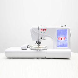 Sistema informático interno de costura e máquina de bordado Fit-Es5