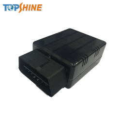 2 Plug and Play SIM Rastreador GPS Carro de diagnóstico OBD