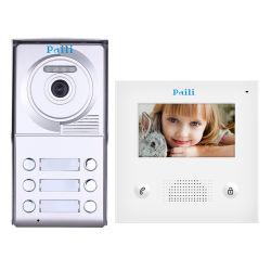 """Porte de Téléphone Bell Paili Intercom vidéo filaire moniteur 4.3 """" Porte de sécurité à domicile Bell filaire"""
