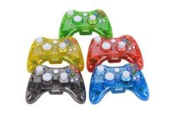 Controlador Xbox 360 Bluetooth, Copatible com PC com Bluetooth, suporte de vibração, 3 Modo de iluminação LED