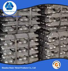 Venta directa, la pureza del 99,7% de lingotes de aluminio con SGS Informe