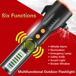 Wasserdichte AAA-Batterie Xml T6 Aluminium Zoombar Taktische LED-Taschenlampe