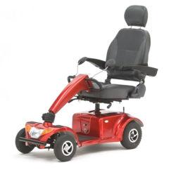 年配者のための快適なシートが付いている屋外の安全電動車椅子の電気移動性のスクーター