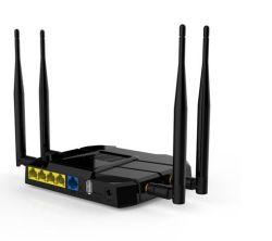 5 SIM 카드 구멍을%s 가진 기가비트 포트 1200Mbps 4G 듀얼-밴드 WiFi 대패