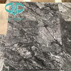 床のためのゴッホの灰色の大理石か壁またはWorktopsまたは表または台所または浴室またはタイルまたは平板または背景またはカバーまたはクラッディング
