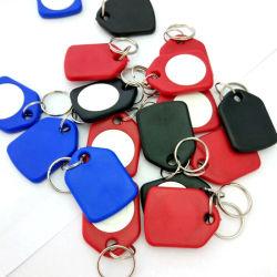 Kundenspezifisches Firmenzeichen gedruckter NFC Schlüsselring der Schlüsselmarken-/NFC/RFID Keychain mit mit Chip T5577