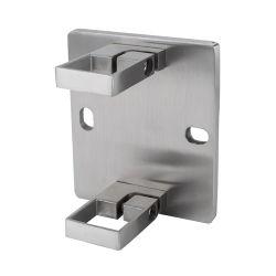 La Chine Fabricant Square ajustable Commerical Balustrade en acier inoxydable avec ce support de la main courante